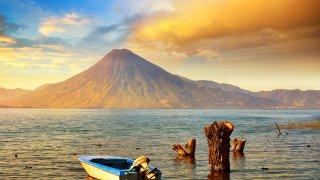 Les volcans du Guatemala