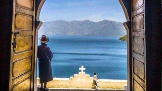 Région du lac Atitlan au Guatemala