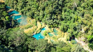 Foret, grottes, cenotes au Guatemala
