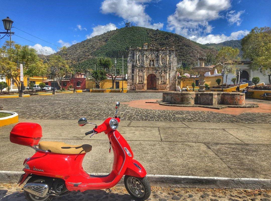 Antigua, régions et villes du Guatemala